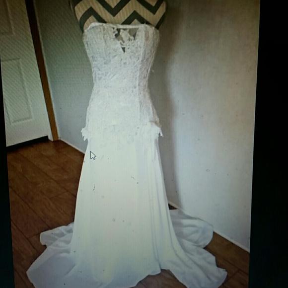 no tags Dresses | Corset Style Wedding Gown Dress | Poshmark